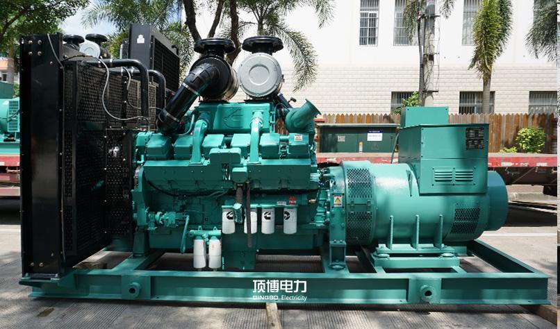 广东惠zhou市公安局惠阳区fen局600KW康明si发电机zu