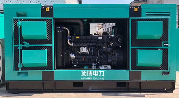 防cheng港市cai政局600KW静音发电机zu中标