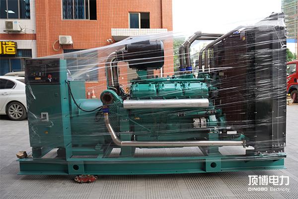 南宁五象新区农民新区建设试点工程500KW里卡duo发电机zu