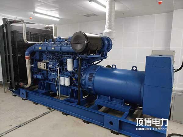 广西zhen业穔ang夭?蒮enyou限公司zhen业qi航城xiang目820KWchai油发电