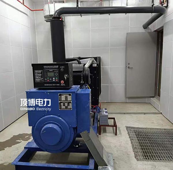 南宁市连畴路gao新派出所250kw玉chaichai油发电机zu